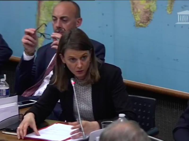 J'interroge en commission Catherine GUILLOUARD, pressentie pour présider la RATP