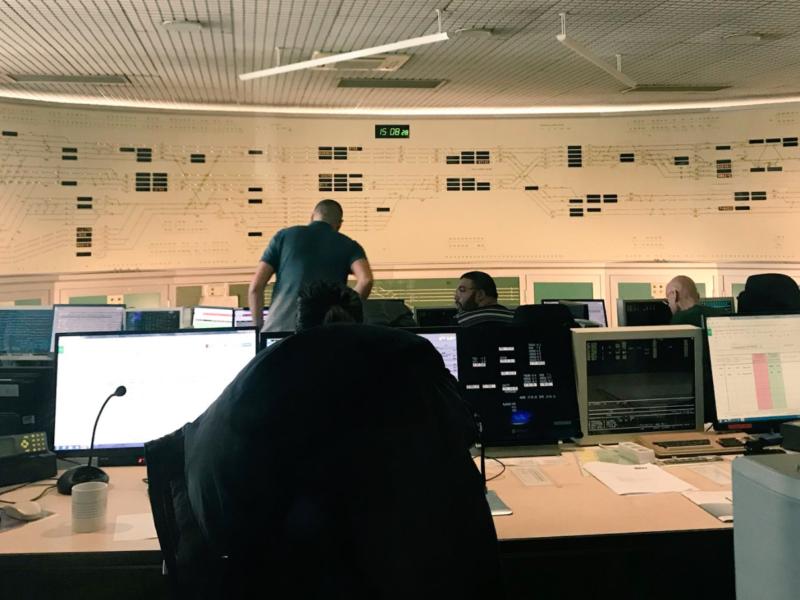 Nuisances sonores : je poursuis mon action en visitant le centre de gestion des circulations SNCF