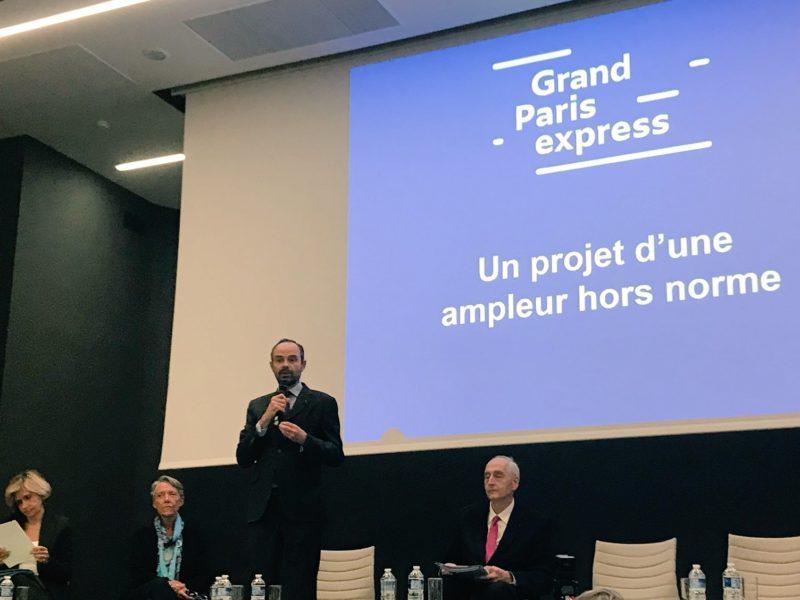 Grand Paris Express : réunion d'échanges avec le Premier ministre