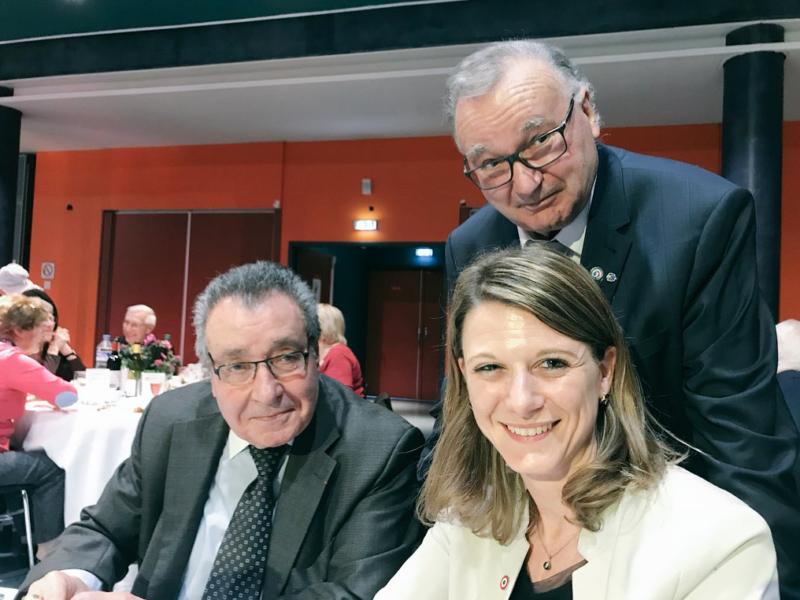 Anciens combattants : je participe à l'assemblée générale et au repas annuel des comités de Bagneux et Montrouge