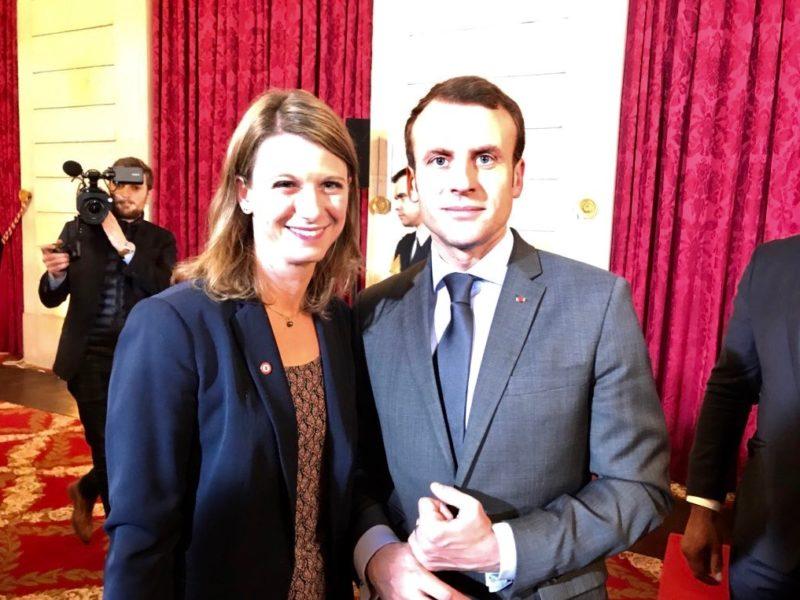 Réception des Députés La République En Marche ! de la Commission du Développement durable à l'Élysée