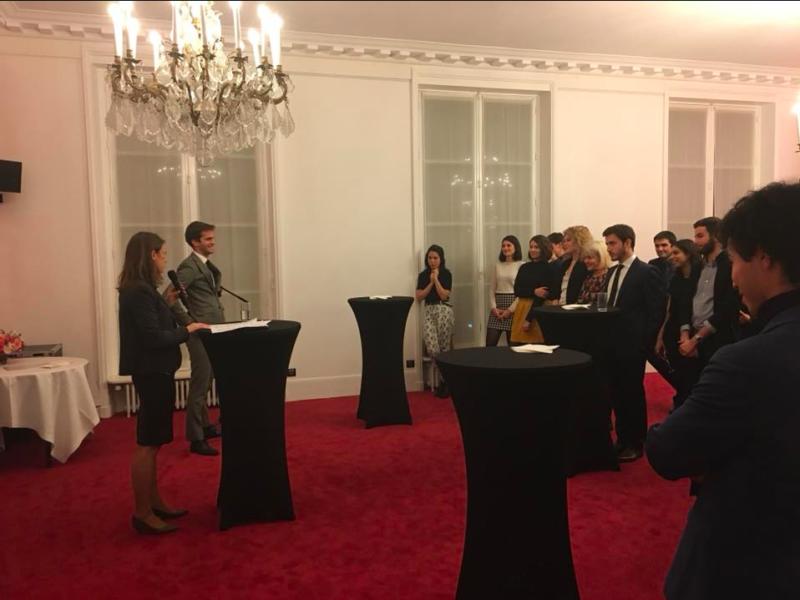 Éloquence et émancipation : j'accueille la Fédération Francophone de Débat à la Questure