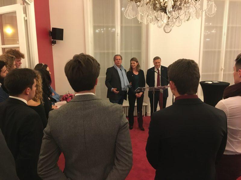 Deuxième soirée d'éloquence avec la Fédération Francophone de Débat