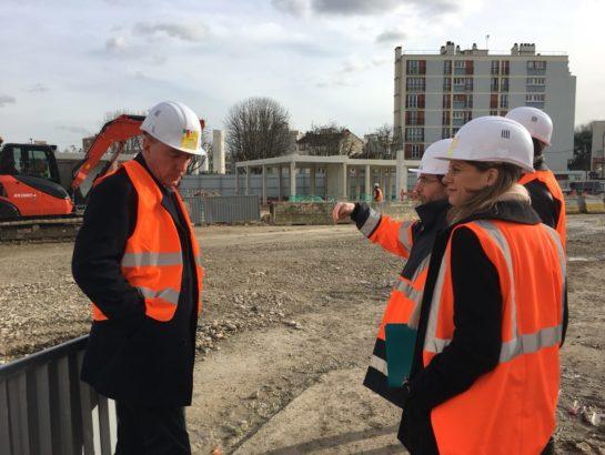 Transports : je visite le chantier de prolongement de la ligne 4 à Bagneux