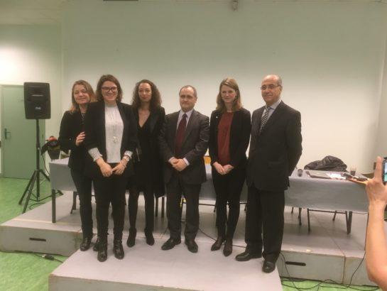 Droits des femmes : j'interviens lors d'une conférence à Bagneux