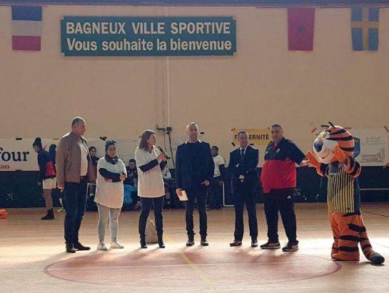 Tournoi du silence : à Bagneux pour soutenir nos équipes de football féminin !