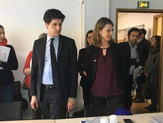 Avec Julien DENORMANDIE à Montrouge pour échanger sur la réforme du logement social