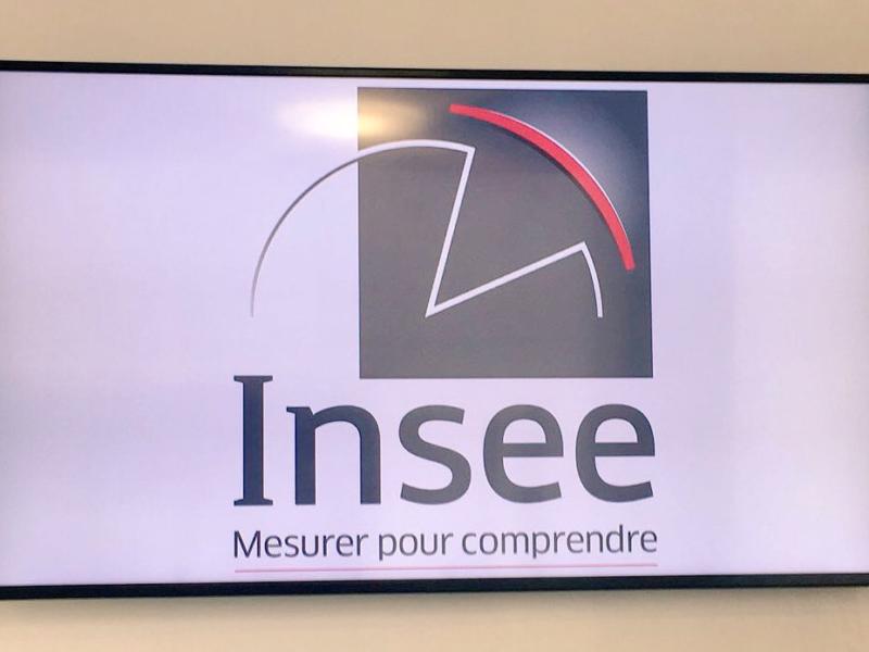 Visite du nouveau siège de l'INSEE à Montrouge