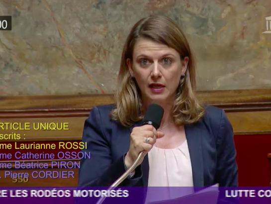 Lutte contre les rodéos motorisés : proposition de loi adoptée !