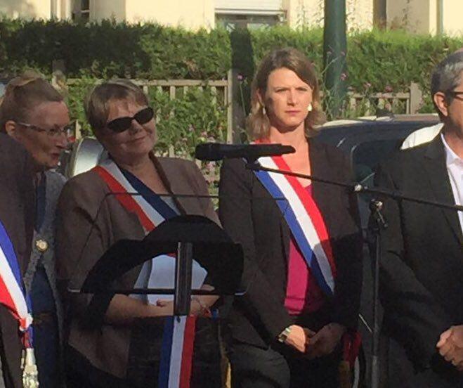 74ème anniversaire de la libération de nos villes : je suis présente aux côtés de nos anciens combattants