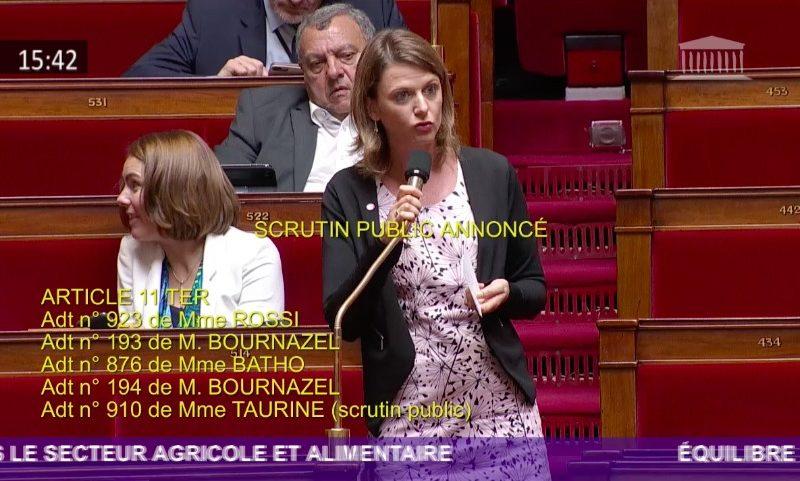 Fin du plastique dans les cantines : mon amendement est adopté à l'unanimité !