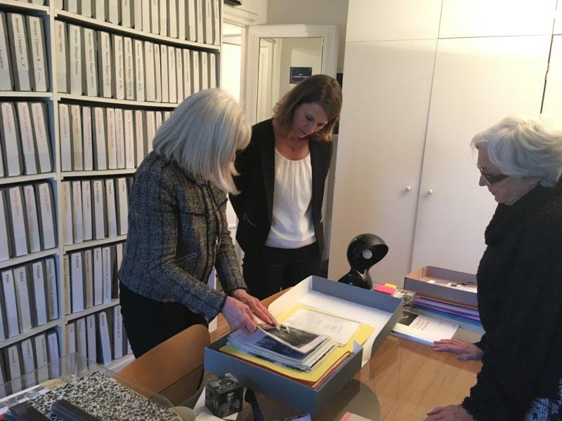 Visite de l'Atelier Robert Doisneau à Montrouge