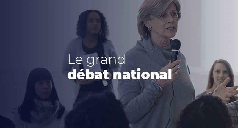 Vous aussi, participez au Grand débat national !