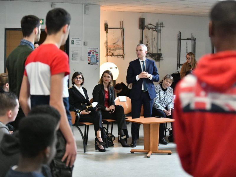 Grand débat des jeunes : j'accueille le Ministre François de RUGY à Bagneux