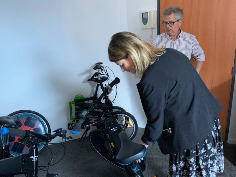 Visite de Rool'in : le premier vélo solaire est fabriqué à Montrouge !