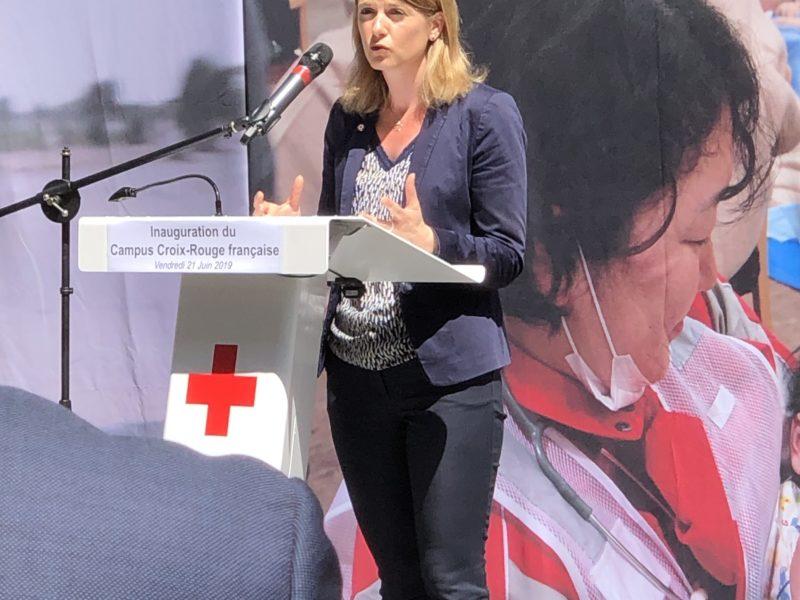 Bienvenue au siège de la Croix-Rouge qui s'installe à Montrouge !
