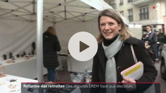 JT de France 2 : à Montrouge, sur le terrain de la réforme des retraites
