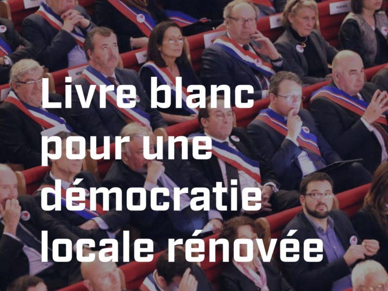 Collectivités : mes propositions pour une démocratie locale renouvelée et transparente