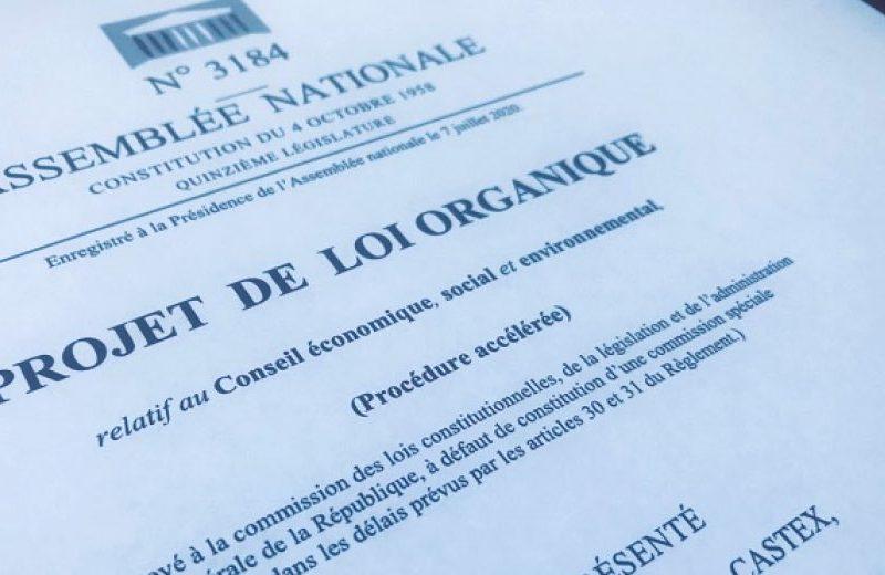Réforme du Conseil économique, social et environnemental (CESE) : j'intègre le volet déontologique !