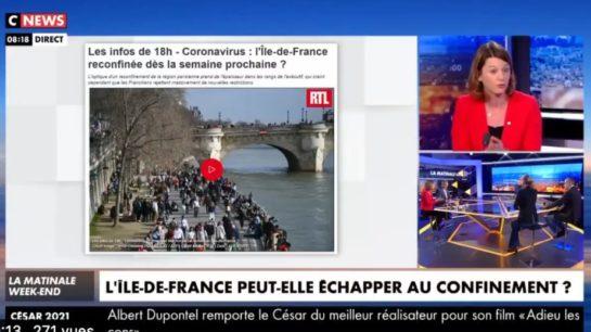 Sécurité, rixes entre bandes : je réagis sur CNews