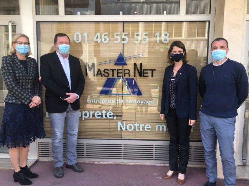 Agents de propreté : mobilisée, à Montrouge comme à l'Assemblée !